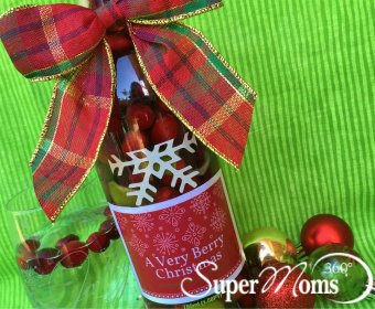 Cranberry Lime Infused Cheer