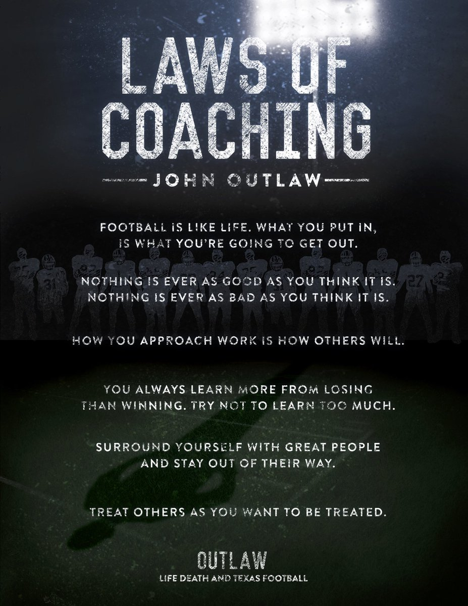 connor jasperson cjasp twitter thank the man coach outlaw it has been five years to the day that coach outlaw went to be the lord we must never forget pic com fhozfvn02x