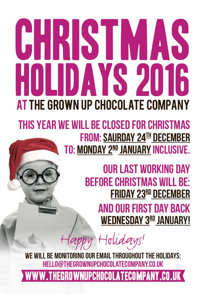 Grown Up Chocolate On Twitter We Hope You Have A Wonderful