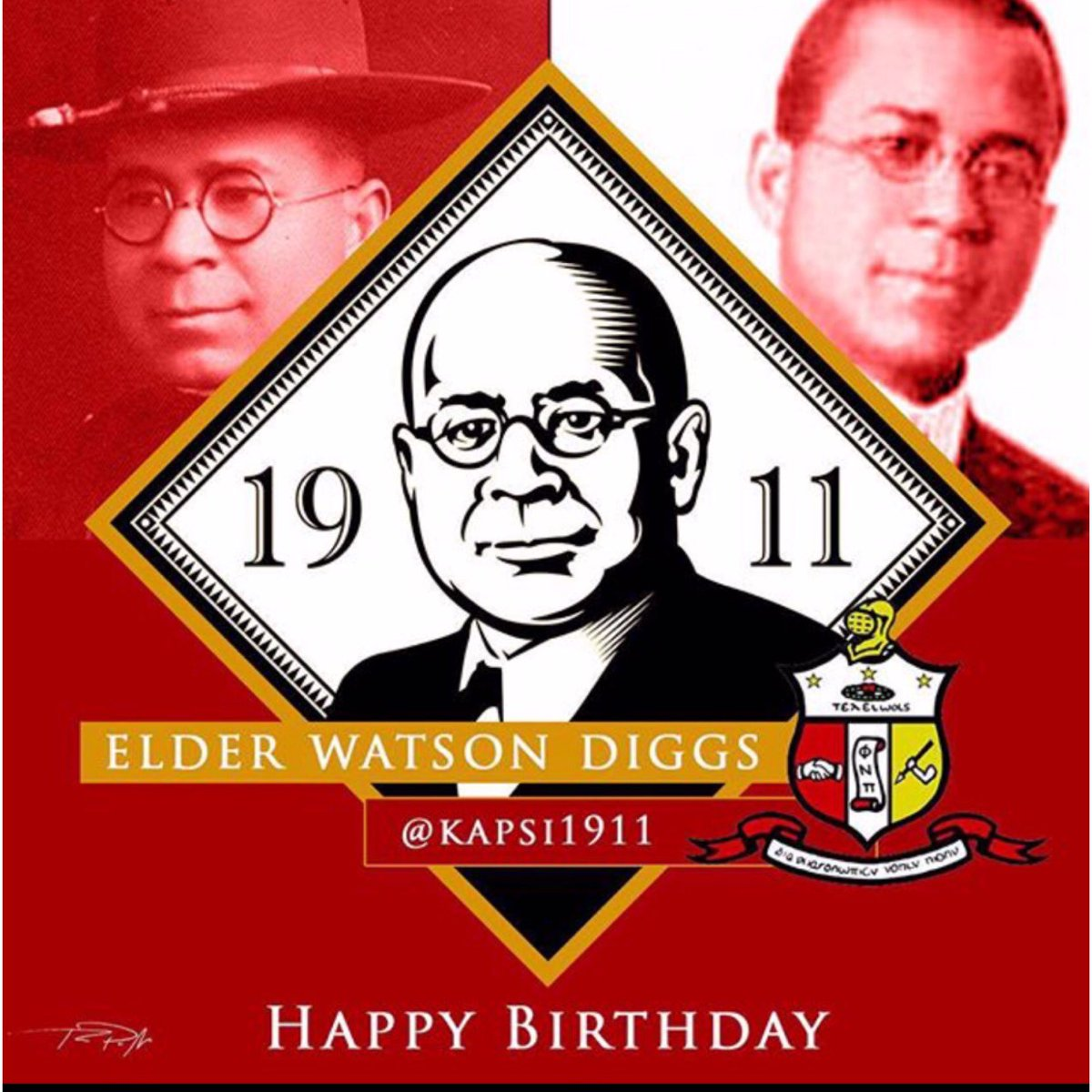 Happy Birthday Founder Elder Watson Diggs #TheDreamer https://t.co/XfVCyswONV
