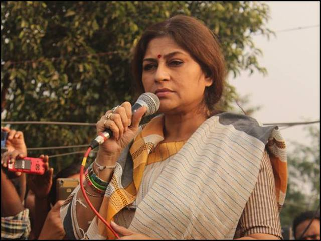 BJP MP Roopa Ganguly admitted to hospital