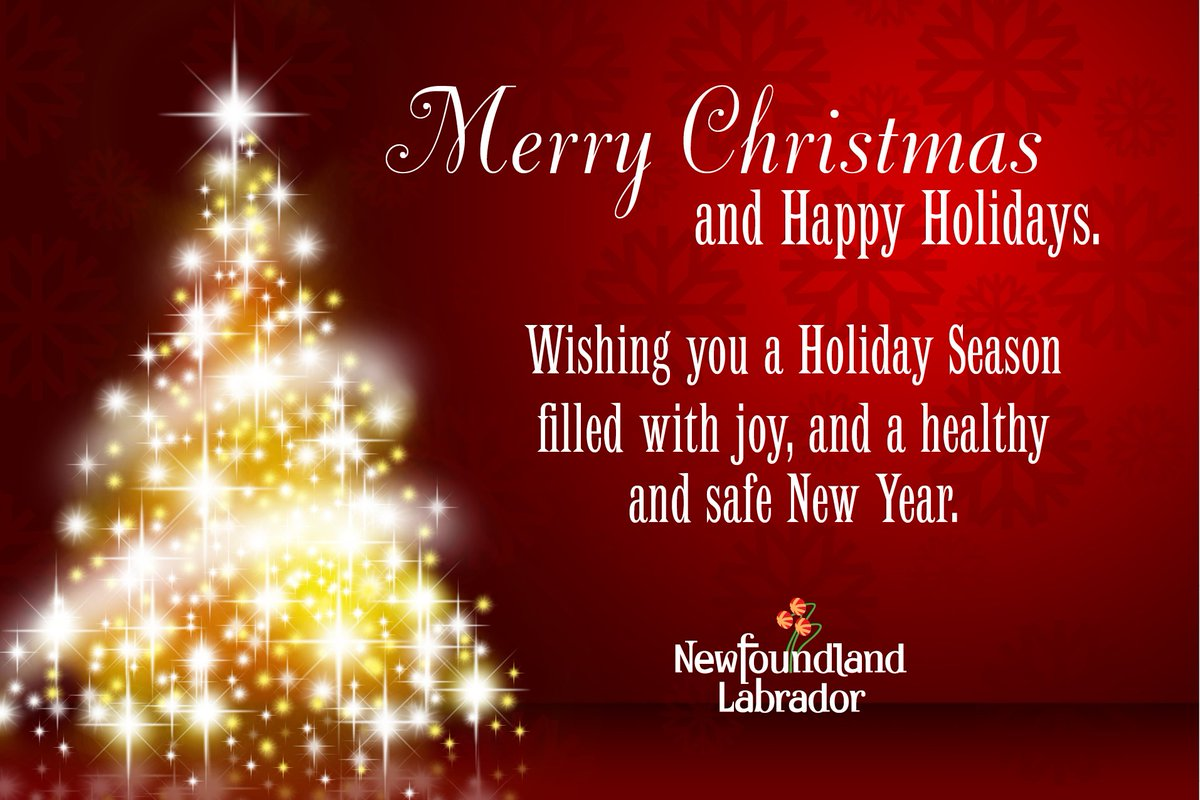 Government Of Nl On Twitter Best Wishes For A Joyous Holiday