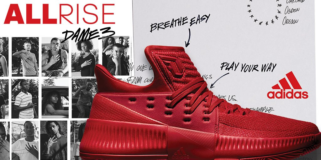 7f85441f19af3d nobody does it alone the new dame3 reps damian lillards roots available now  gt