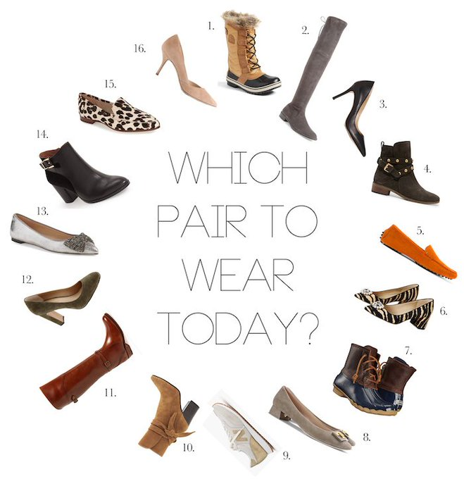 Fashion Friday: The Perfect Fall Shoe Wardrobe