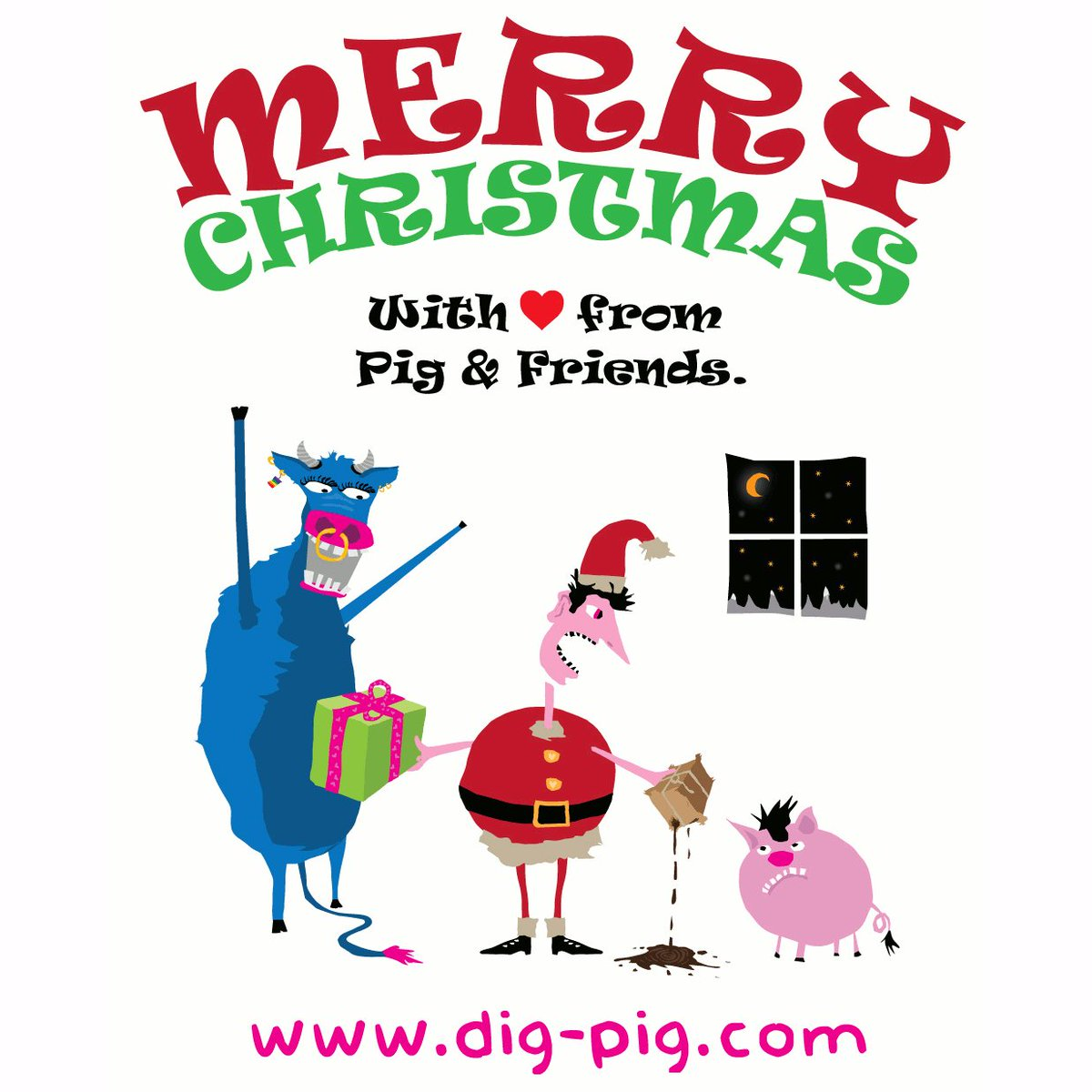 Dig Pig On Twitter Happy And Peaceful Holidays From Pig And Friends With From Berlin Pretty sure my boards speak for themselves. twitter