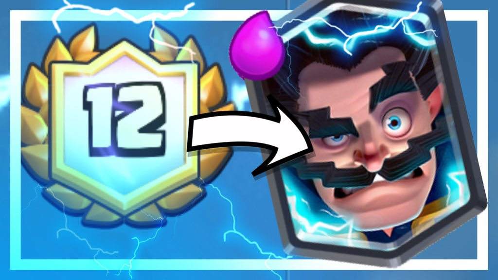 ash cwa on twitter two 12 win electro wizard challenge decks ft