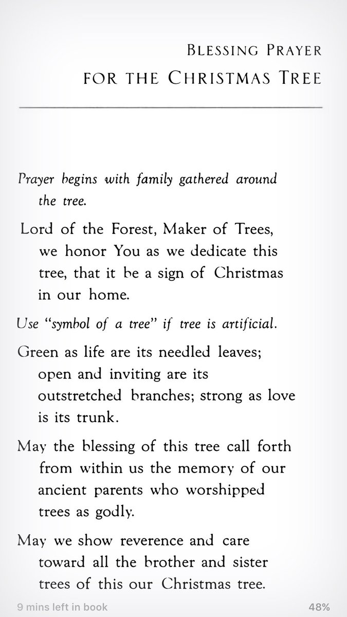 father richard on twitter another christmas tree blessing from fr ed hays in his wonderful book prayers for the domestic church