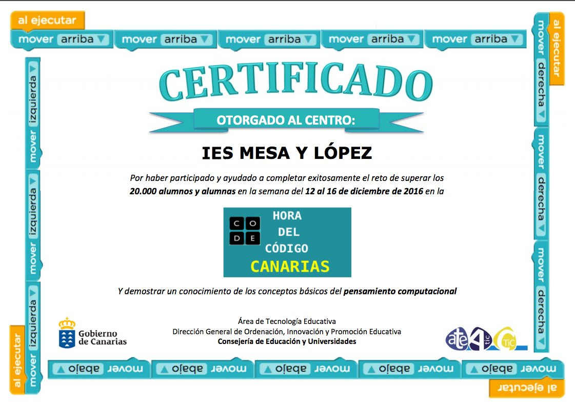 Jos miguel s nchez tecnotechnology twitter for Ies mesa y lopez