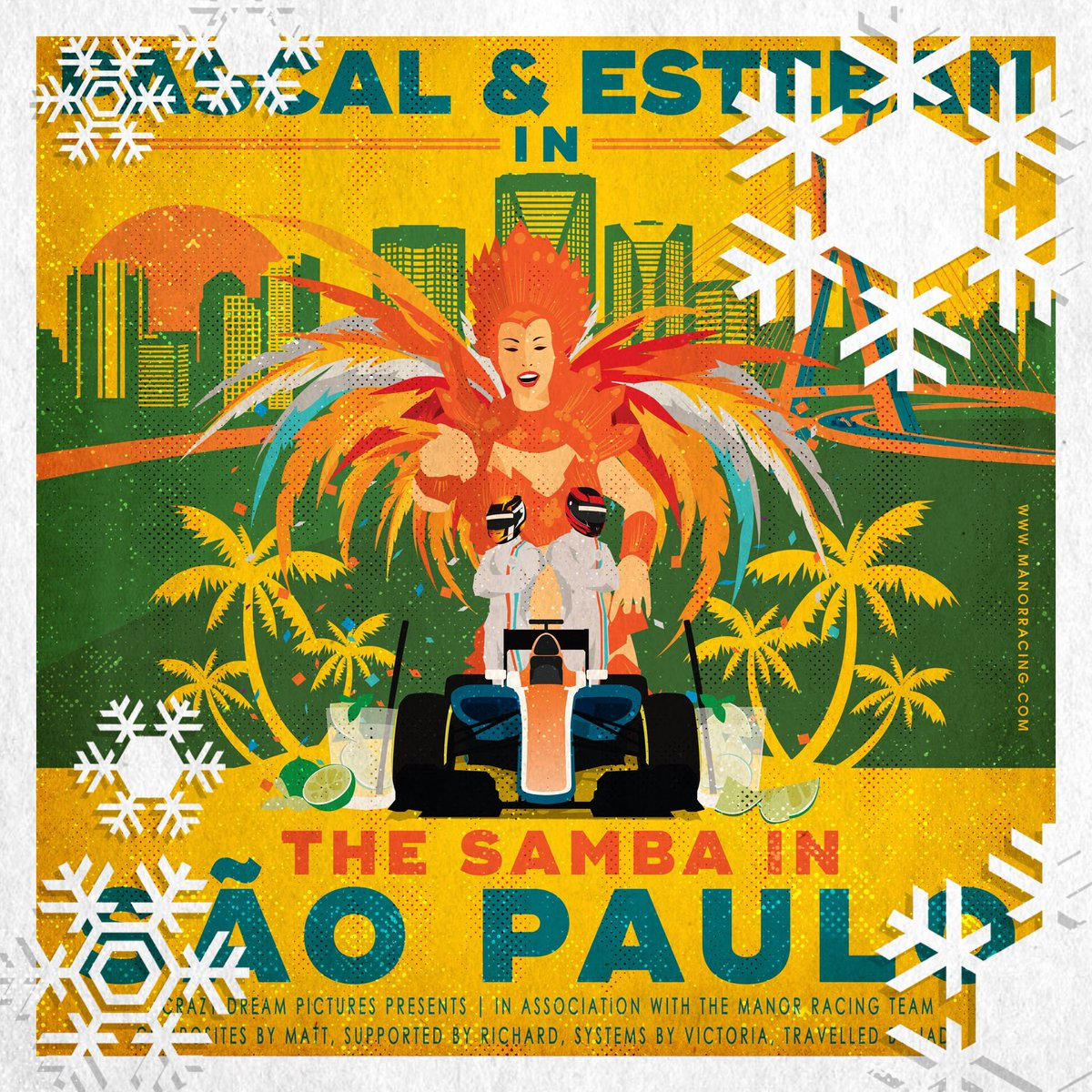 Penultimate day of Race Posters Revisited. Next up, hmmm...#BrazilGP. As it turned out, we did not feel like doing the Samba in São Paulo 💔 https://t.co/weku1B27RC