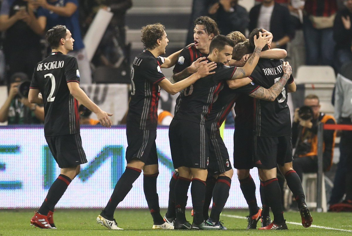 🏆 @acmilan enjoy victory in Doha, beating #UCL contenders @juventusfc 4-3 on penalties after a 1-1 draw...