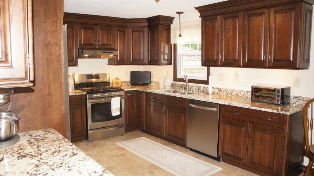 Kccne On Twitter Cranston Ri Kitchen Featuring Semi Custom Cabinets Sullivan Door In Cherry Finish Black Forest Glaze Https T Co C0wcsbmuu4 Kccne Https T Co Y5ex6j97jw