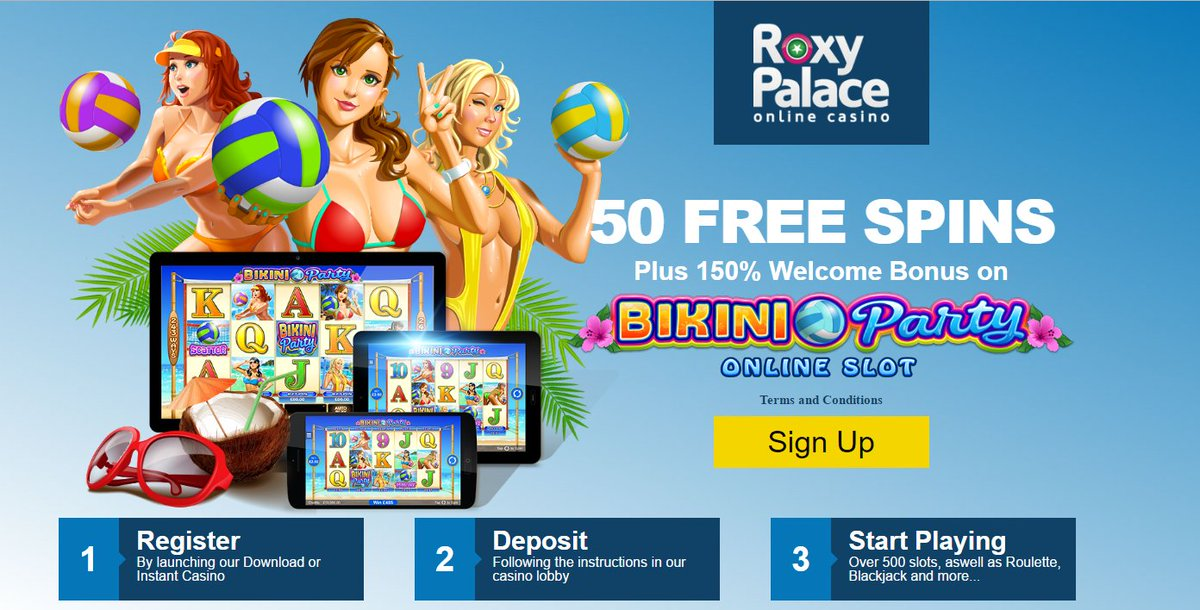 roxy palace free spins