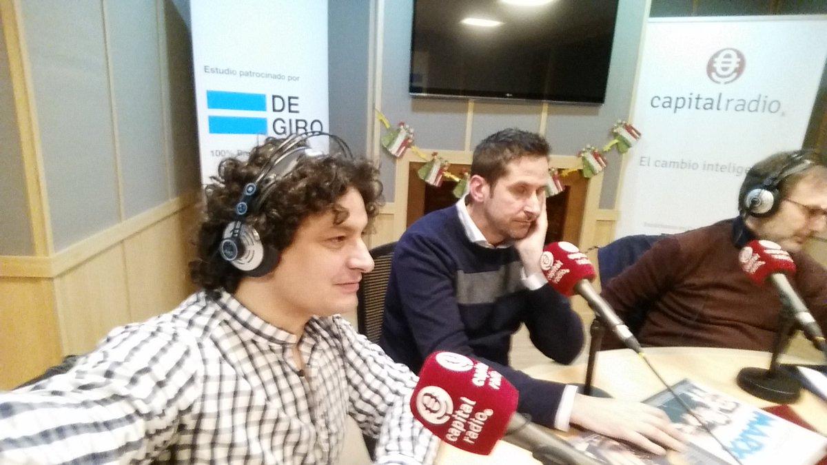 Ahora en el @MarcapaginasCR con @dfarranz
