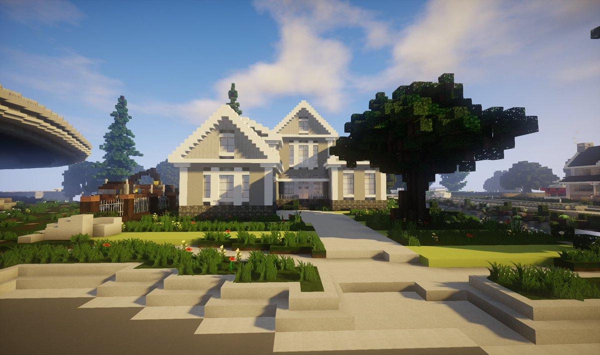 Wavv3s On Twitter Minecraft Belle Maison Traditionnel Sur