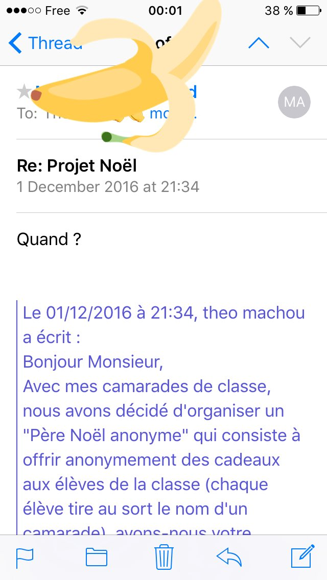 formule de politesse pour un mail a un prof