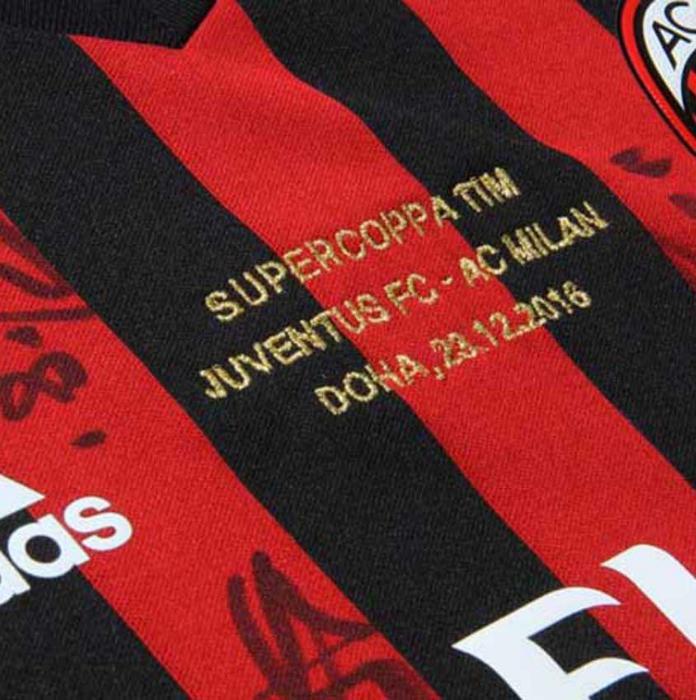 Blog Segunda Pele  Milan lança linha especial de camisa após título da  Supercopa da Itália 2d2ae11659555