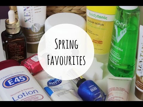 Spring Favourites #beauty #MakeUp #LifeStyle
