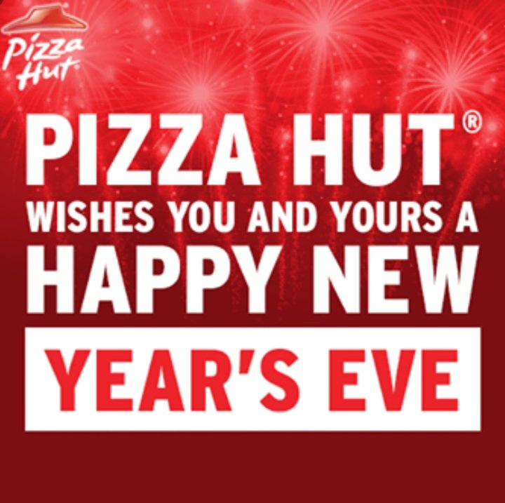 Pizza Hut Gibraltar On Twitter Happy New Years Eve From