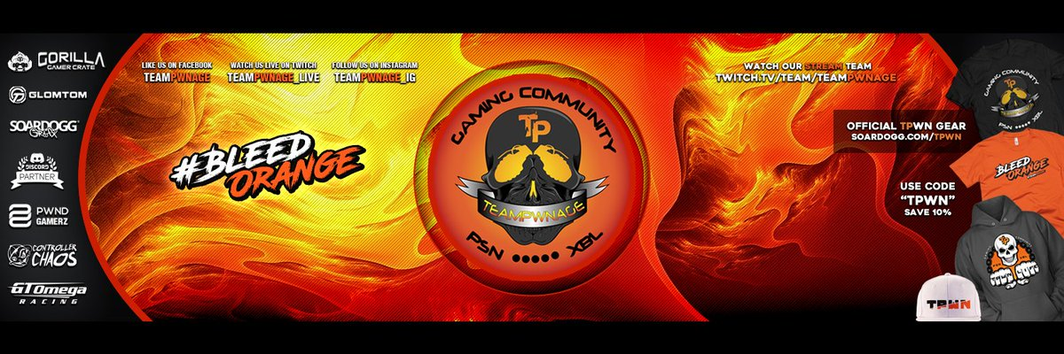 #TPwn 2017 Header and new Look by @soardogg! @TeamPwnage_Live https://t.co/P0E6Yk9ks4