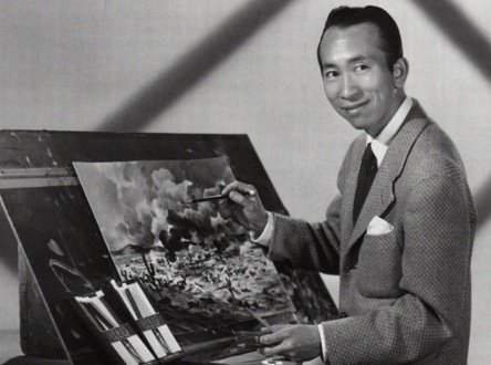 More images of Tyrus Wong's pastels, that inspired the look of BAMBI. (Mr Wong has passed away at age 106!) https://t.co/efff2FZqTT