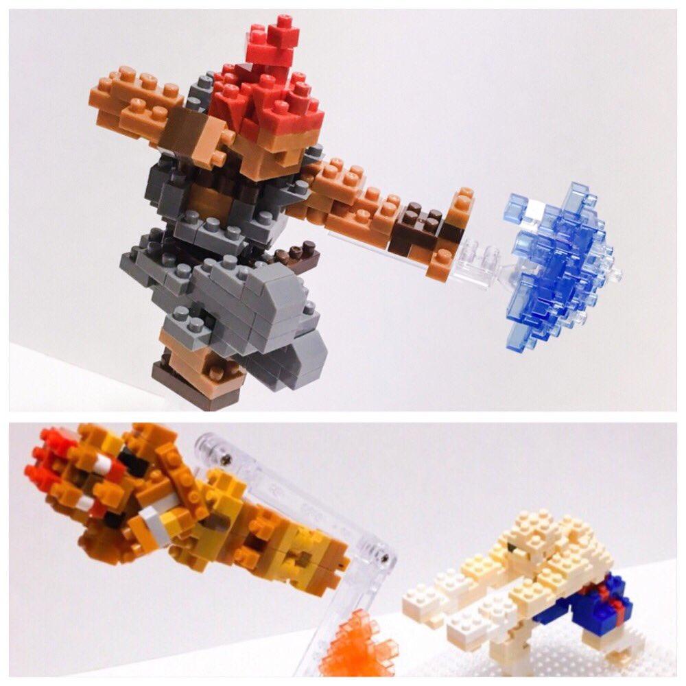 今年のナノブロック①格ゲー系  #ナノブロック #nanoblock