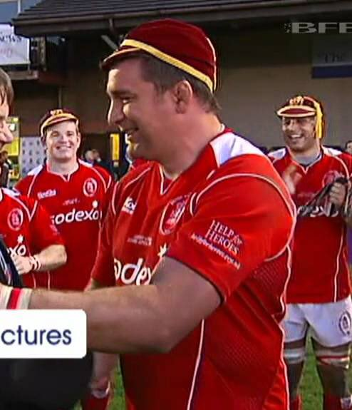 Huge congratulations to Army Rugby Legend Ben Hughes awarded an MBE in the New Years honours!