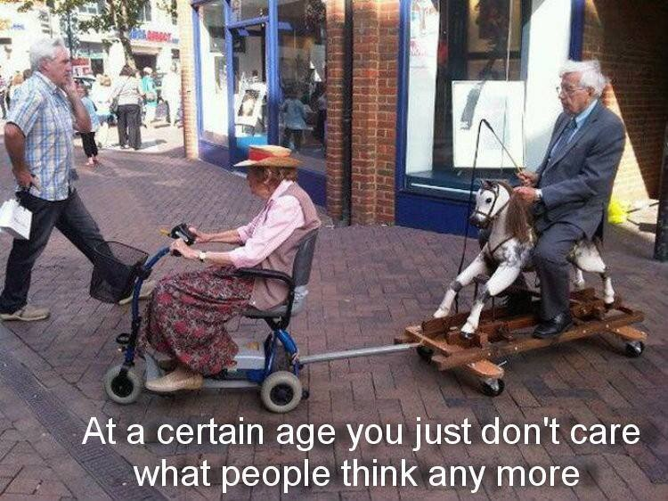 At a certain age you just don't care what people think anymore !! https://t.co/HhtulPnE5H