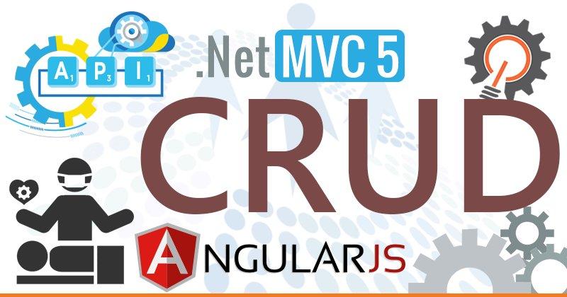 CRUD Operations in MVC 5 Using WebAPI With AngularJS