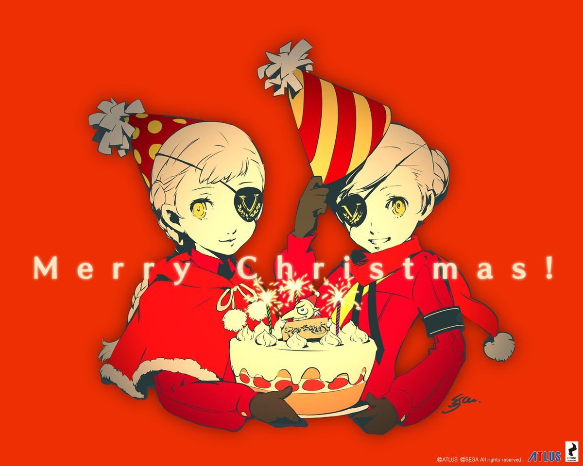 Persona 5 Christmas Gifts.Persona Central On Twitter A Christmas Gift Via The