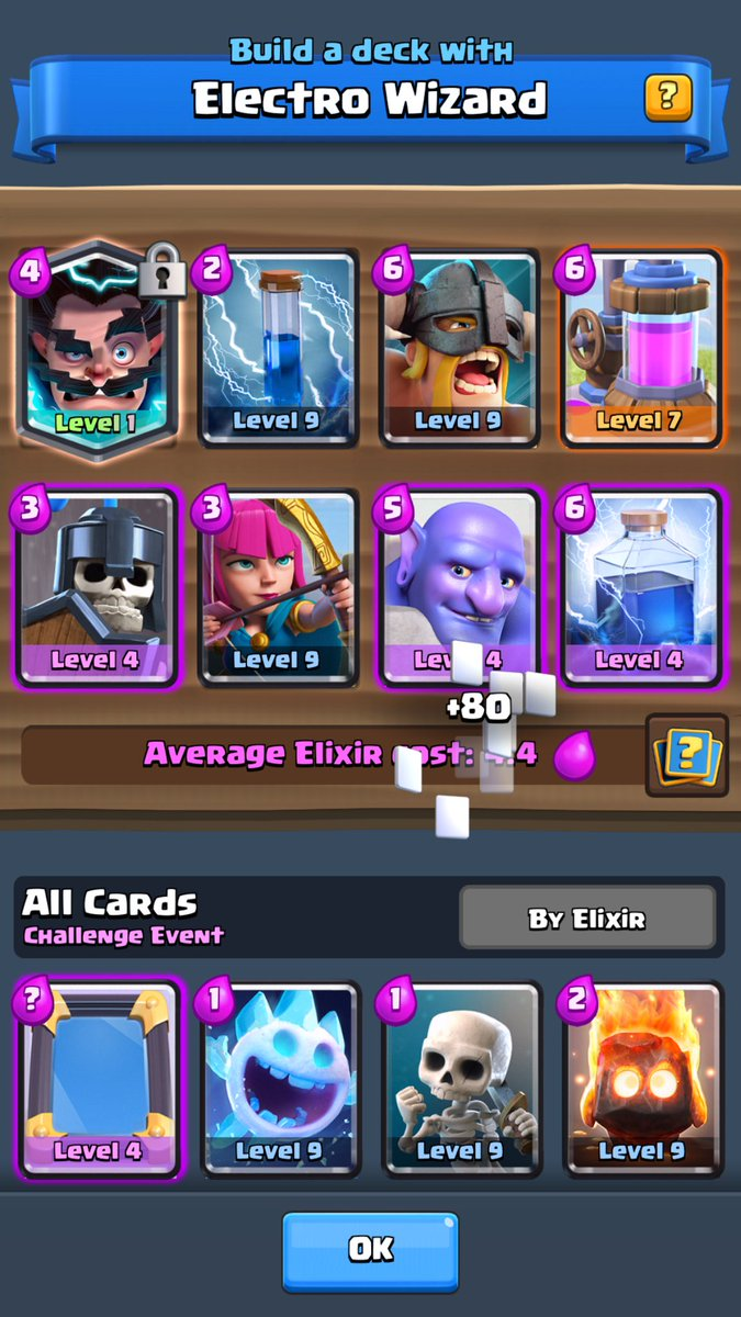 clyde on twitter 2 2 in electro wizard challenge with this deck