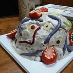 子供のトラウマ不可避!このクリスマスケーキはダメ!