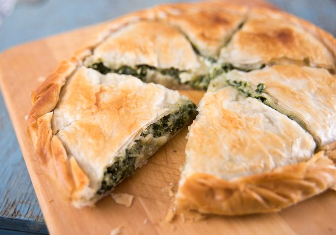 Leftover Greek Spanakopita Pie In The Air Fryer