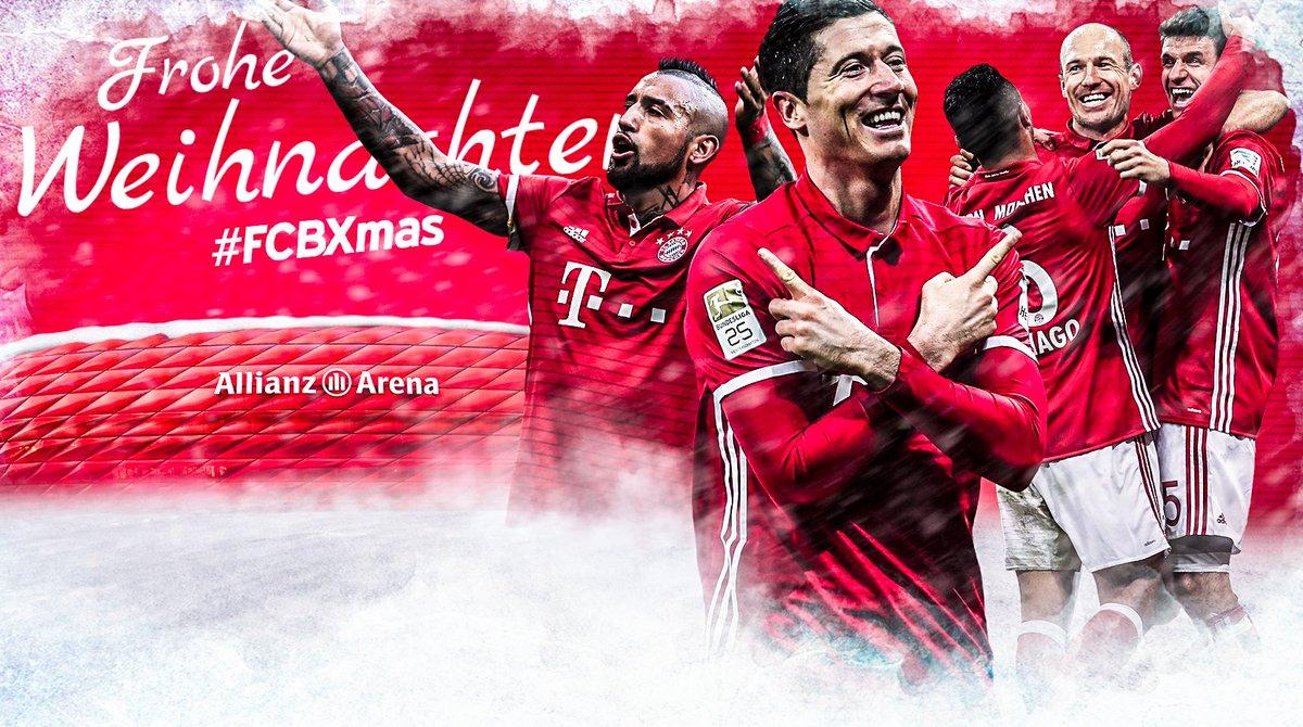 Fc Bayern Wünscht Frohe Weihnachten.Fc Bayern München On Twitter Frohe Weihnachten Liebe Fcbayern