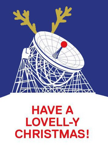 Have a Lovell-y Christmas and best wishes for the New Year! https://t.co/EQd8jTdsjt