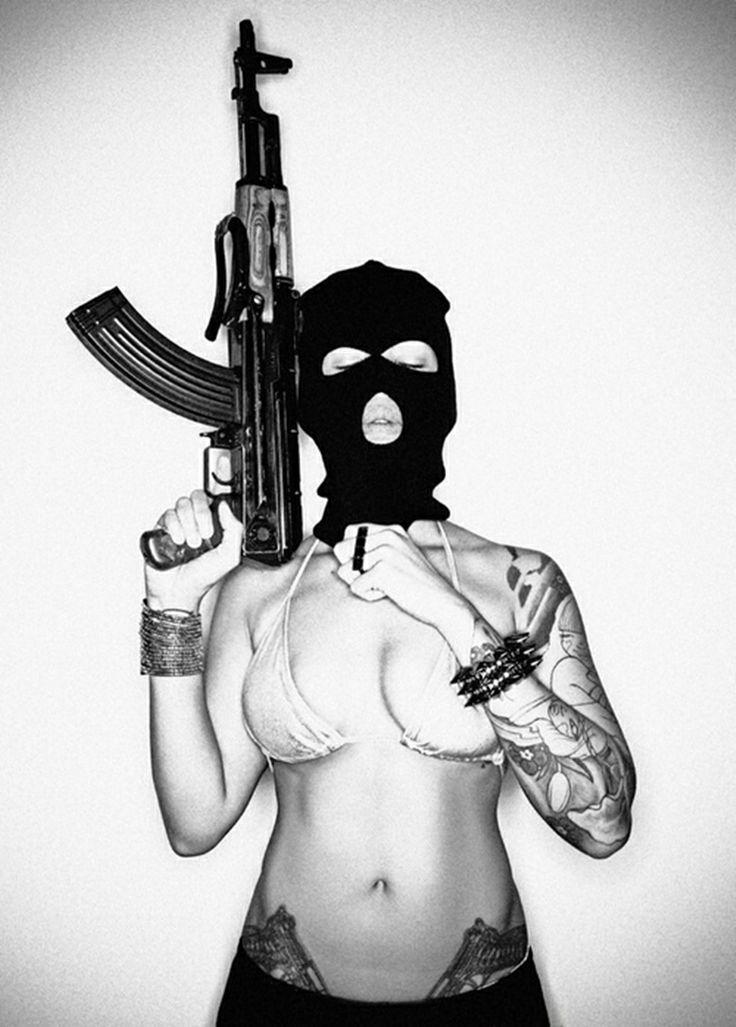 Gangster gils nude