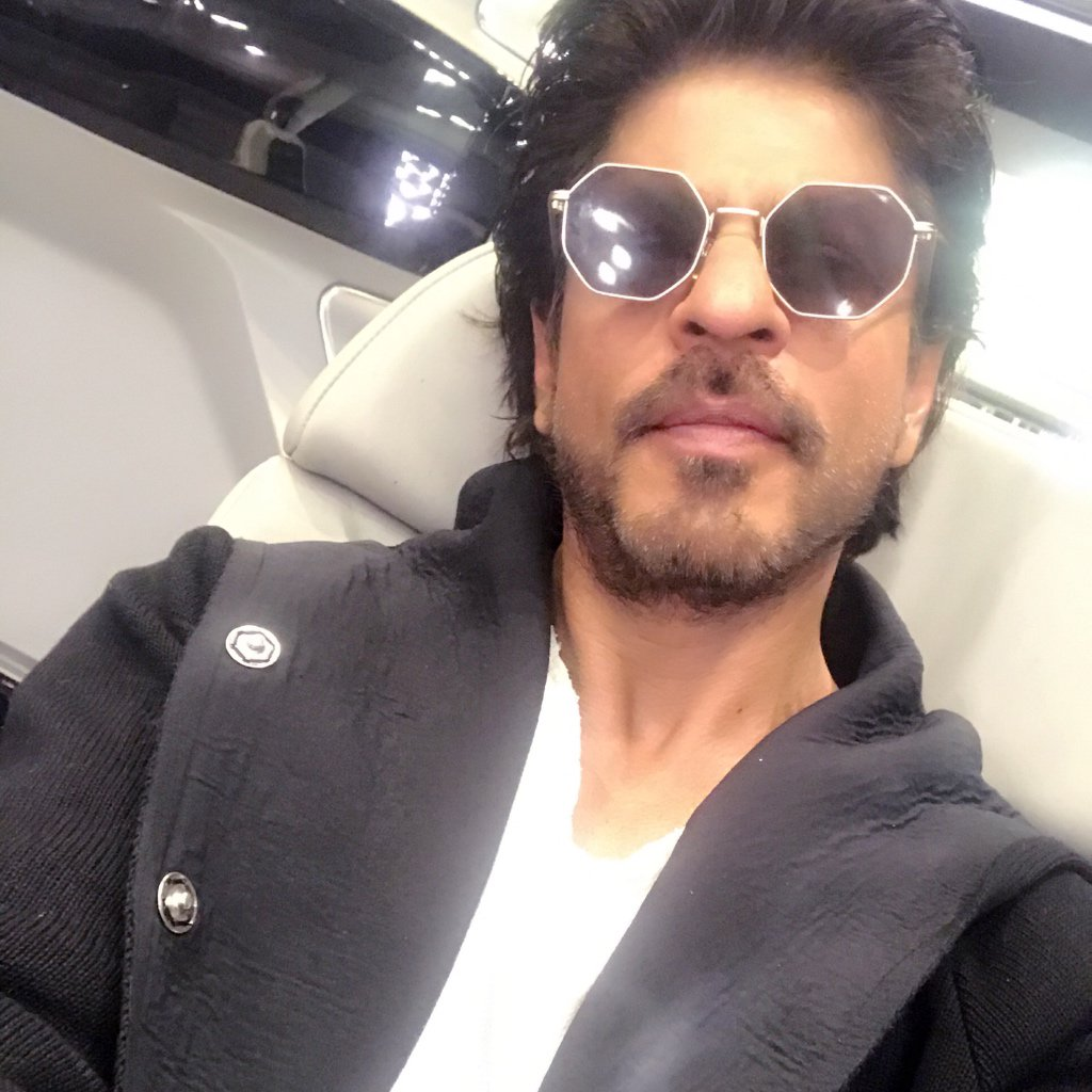 9ee597ed1dc Shah Rukh Khan on Twitter   quot At Raees wrap getting gifts from unit is