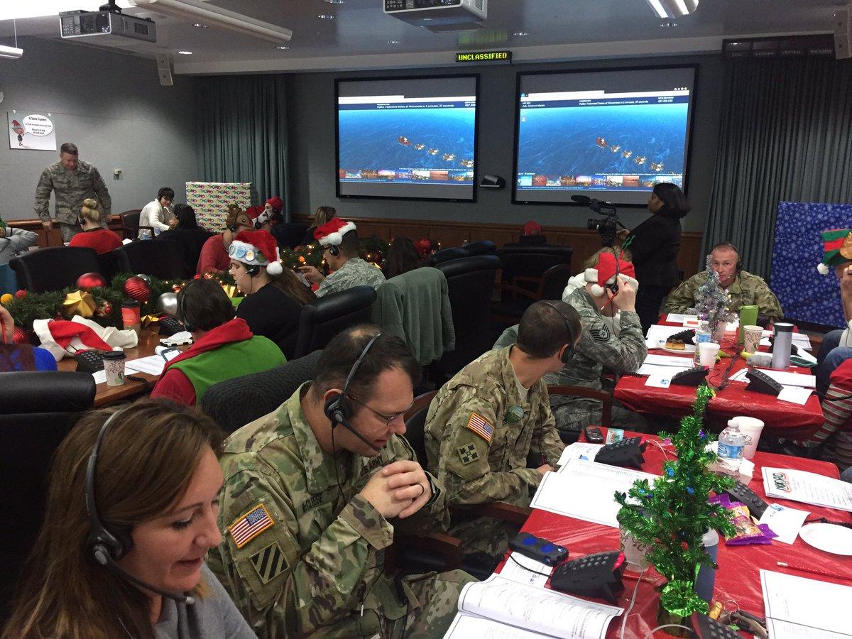 NORAD Tracks Santa on Twitter: \