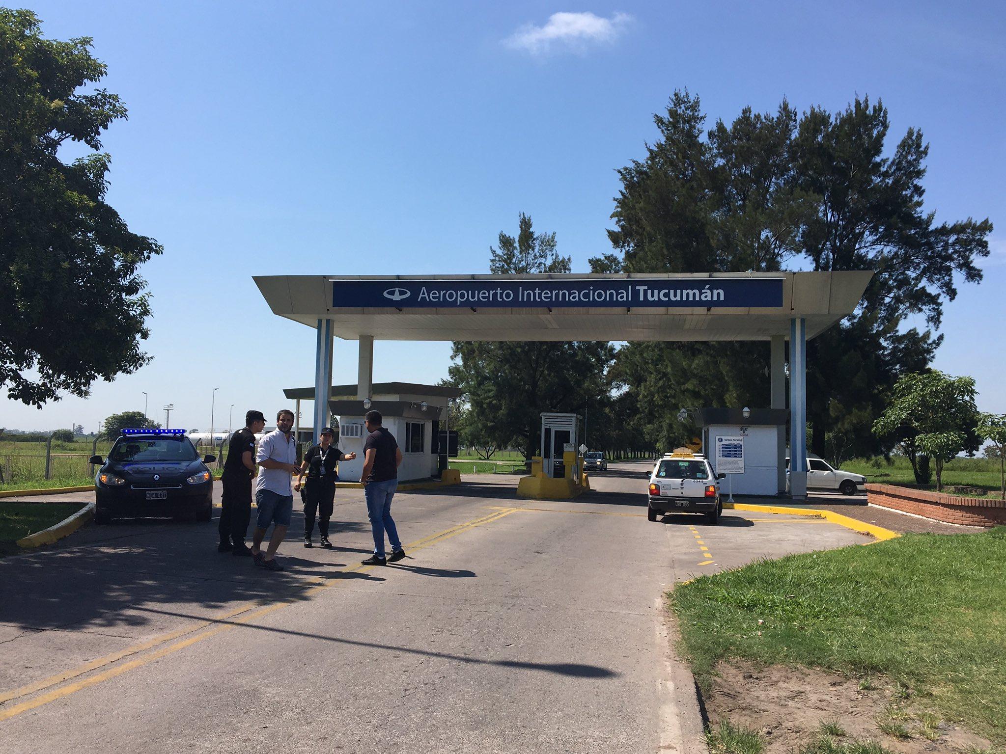 Thumbnail for Amenaza de bomba en el aeropuerto de Tucumán