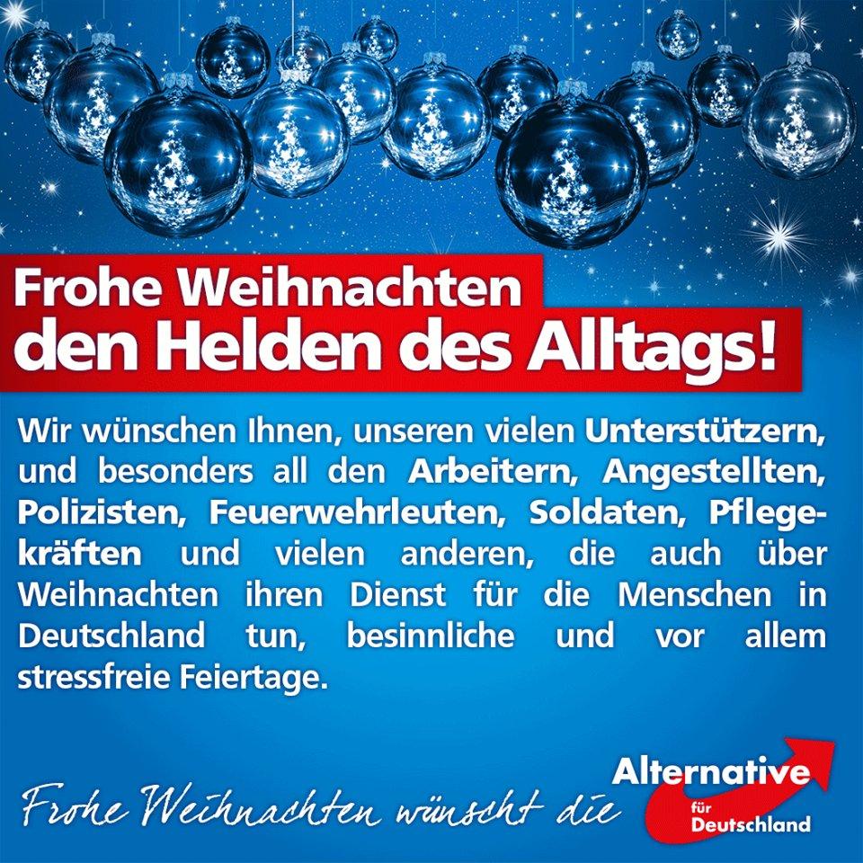 Frohe Weihnachten Aus Deutschland.Afd Kompakt On Twitter Frohe Weihnachten All Denen Die
