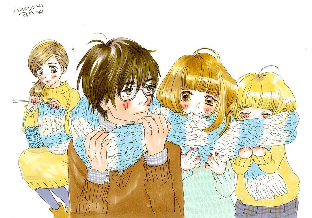 「3月のライオン」第11話をご覧いただいたみなさまありがとうございました!11話のエンドカードイラストは安野モヨコ先生に寄稿いただきました!3lion-anime.com/special/第12話は年明け1月7日放送です☆#3月のライオン #3lion_anime pic.twitter.com/VclXOyrx10