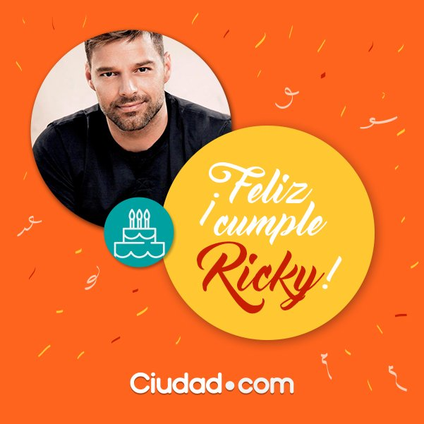 Cumpleanos Feliz Ricky Martin.Ricky Martin Gay Feliz Cumpleanos