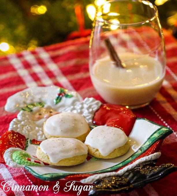 Missy's Eggnog Cookies