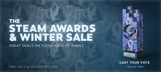 Steam Winter Sale Continues! Plus, Vote For The Steam Awards!