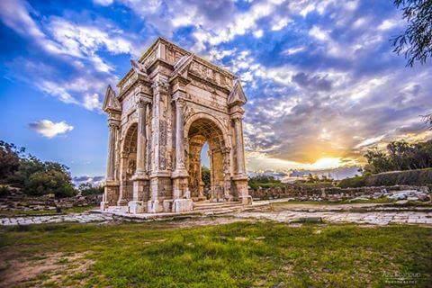 Nosa On Twitter قوس النصر للامبراطور الروماني سبتيموس سيفيروس