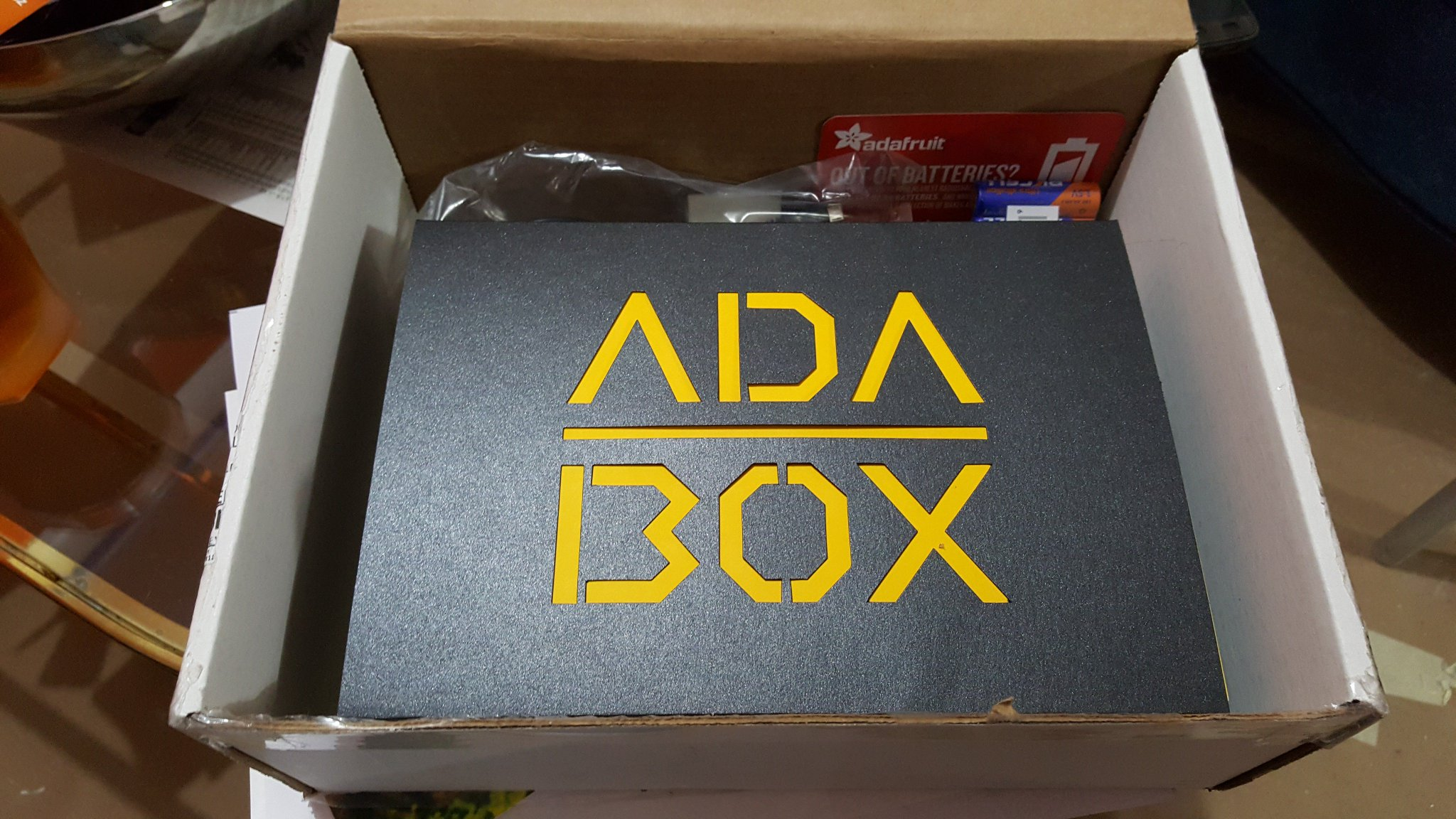 "Adabox 002 mark deloura on twitter: ""i was so excited to get #adabox"