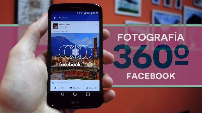 Crear Fotografías 360º para Facebook