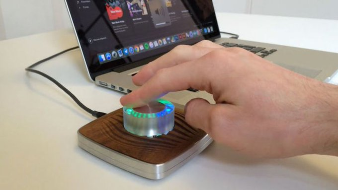 Build Your Own Fancy Glowing USB Volume Knob