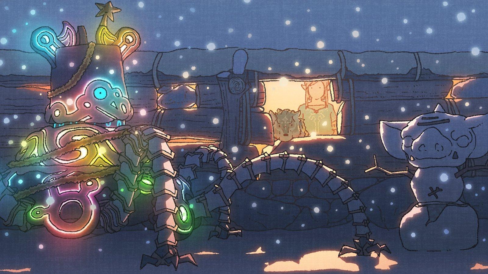 Weihnachtsartwork