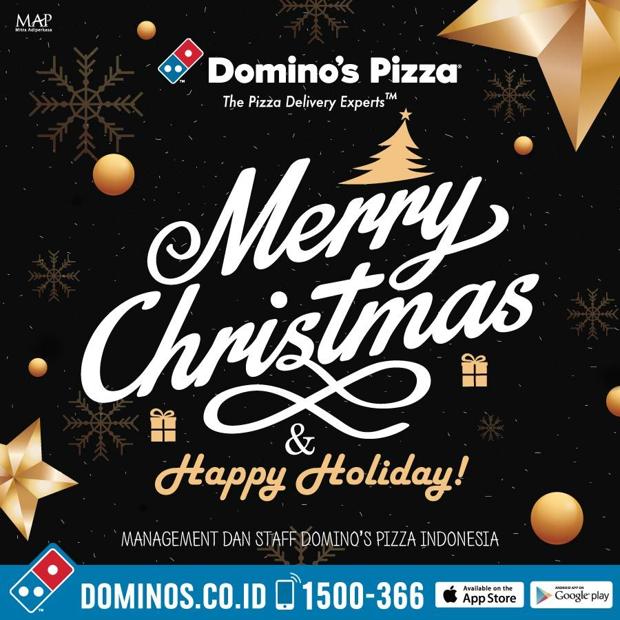 Is Dominos Open On Christmas.Domino S Pizza Id On Twitter Merry Christmas Everyone May