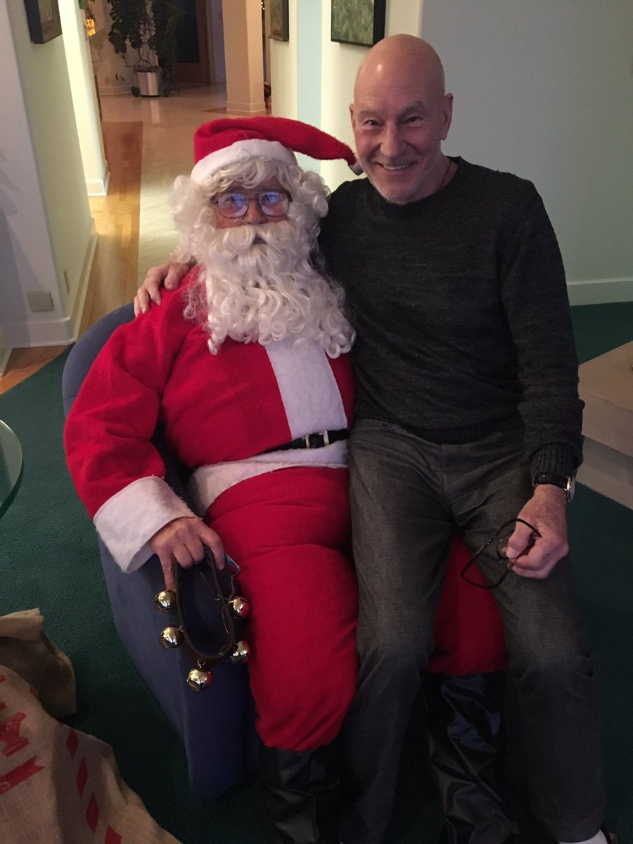 patrick stewart on twitter father christmas also father in law happy holidays to all - What To Get Father In Law For Christmas